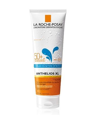 La Roche Posay Anthelios Crème Solaire en Gel Peau Mouillée Wet Skin Corps SPF50+ Avec Parfum 250ml