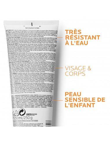 La Roche Posay Anthelios Crème Solaire en Lait Hydratant Enfant Dermo-Pediatrics SPF50+ Sans Parfum 250ml
