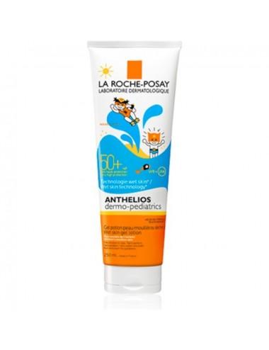 La Roche Posay Anthelios Crème Solaire en Gel Peau Mouillée Enfant Dermo-Pediatrics Wet Skin SPF50+ 250ml