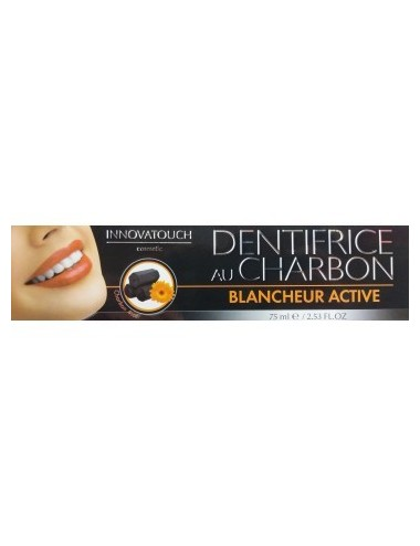 Innovatouch Dentifrice au Charbon Blancheur Active 75ml