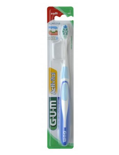 Gum Brosse à dents Activital Souple Ultra Compacte