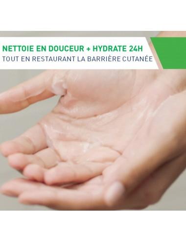 CeraVe Crème Lavante Hydratante visage et corps pour les peaux sèches à très sèches 1L