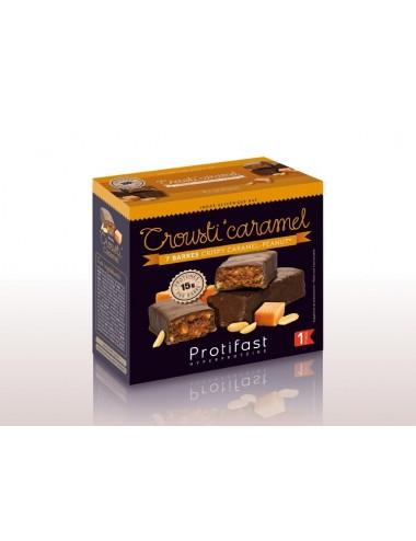 Protifast Barre Crousti'Caramel Peanut 7 unités