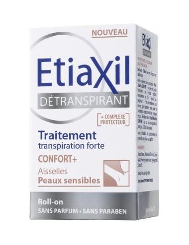 Etiaxil Traitement Détranspirant Pieds Lotion Peaux Sensibles Roll-on 15ml
