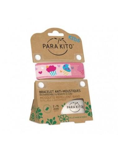 Parakito Bracelet Enfant Anti-moustiques Cupcake