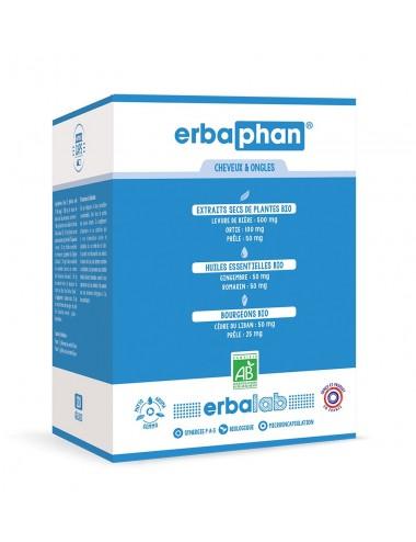 Erbacaps Bio Erbaphan Cheveux et Ongles 120 gélules