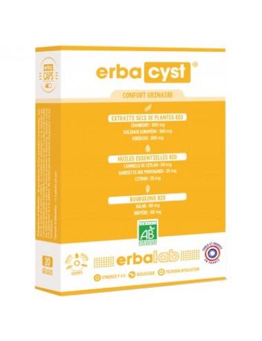Erbacaps Erbacyst 10 gélules