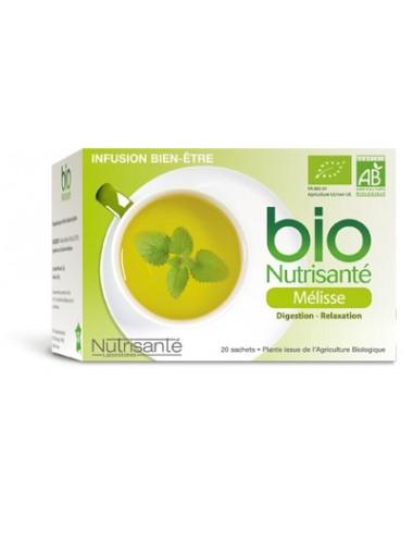 Nutrisanté Infusion Bio Mélisse 20 sachets