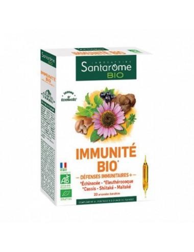 Santarome Bio Immunité 20 ampoules