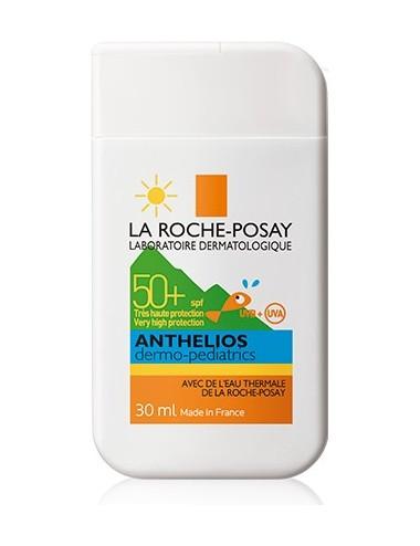 La Roche Posay Anthelios Crème Solaire en Format Pocket Enfant Dermo-Pediatrics SPF50+ Format Poche 30ml