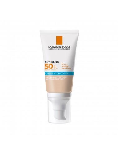 La Roche Posay Anthelios Crème Solaire Hydratante Teintée Visage SPF50+ Avec Parfum 50ml