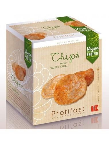 Protifast Chips Soja Vegan Saveur Sweet Chili 2x30g