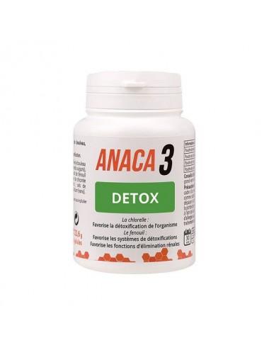 Anaca 3 Détox Détoxification de l'Organisme 60 Gélules
