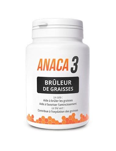 Anaca 3 Brûleur de Graisses 60 Gélules