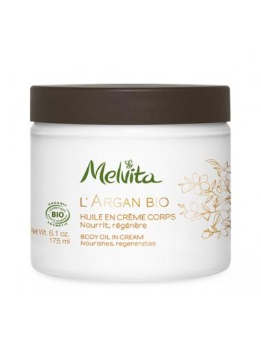 Melvita L'Argan Bio Huile en Crème Corps 175 ml