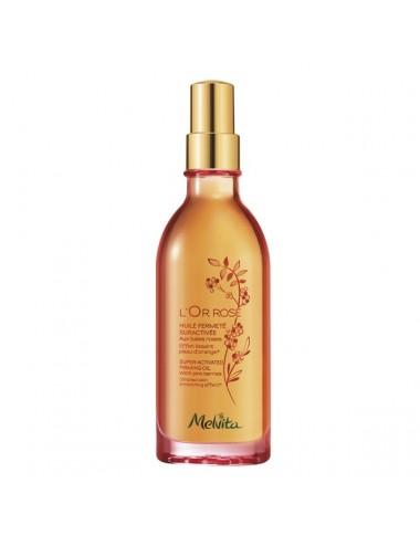 Melvita L'Or Rose Huile Fermeté Suractivée Bio 100 ml