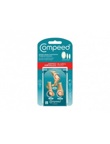 Compeed Assortiment pansements ampoules x5