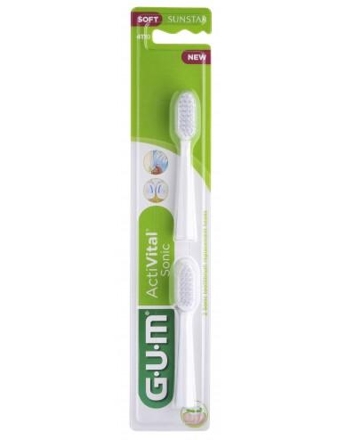 Gum Recharges brosse à dents ActiVital Sonic