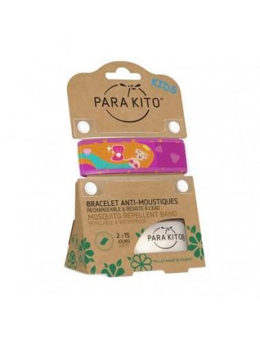 Parakito Bracelet Enfant Anti-moustiques Sirène