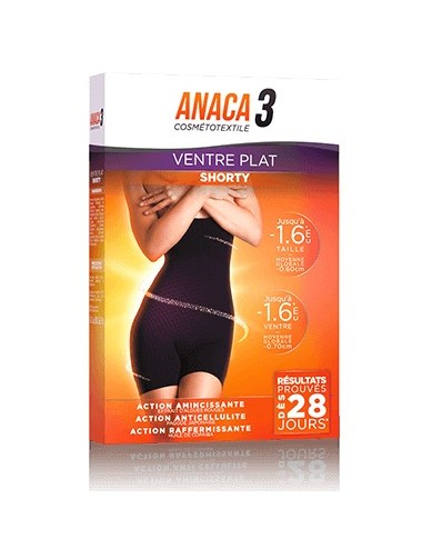Anaca 3 Shorty Ventre Plat 28 jours Taille L/XL