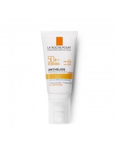 La Roche Posay Anthelios Crème Solaire Pigmentation Teintée Visage SPF50+ Sans Parfum 50ml