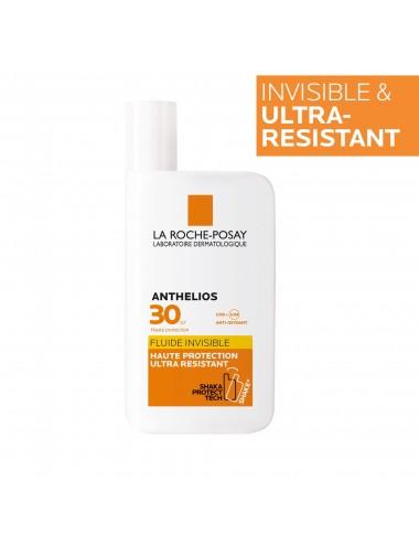La Roche Posay Anthelios Crème Solaire en Fluide Invisible Visage SPF30 Avec Parfum 50ml