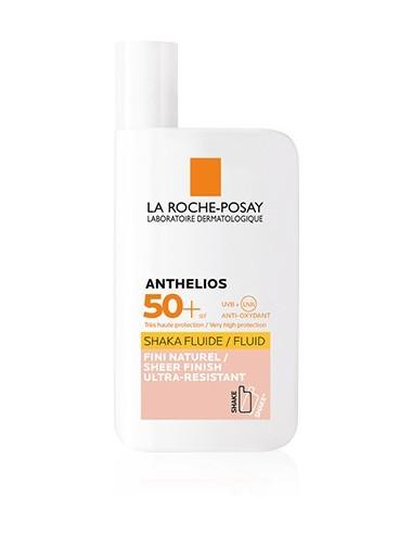La Roche Posay Anthelios Crème Solaire en Fluide Teinté Visage SPF50+ Avec Parfum 50ml
