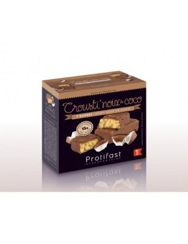 Protifast Barre Crousti'Noix de Coco 7 unités