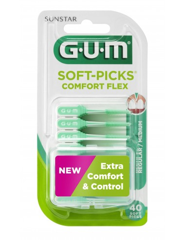 Gum Bâtonnet interdentaire Soft Picks Comfort Flex
