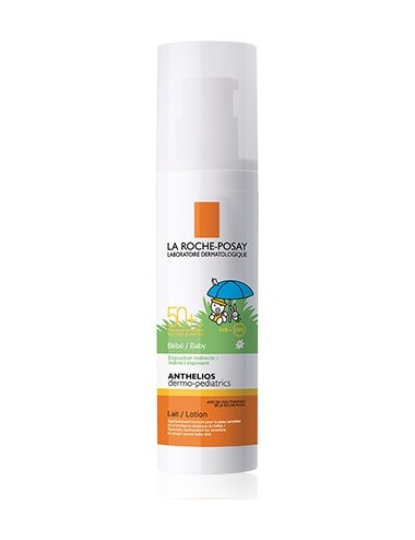 La Roche Posay Anthelios Crème Solaire en Lait Bébé Dermo-Pediatrics SPF50+ Sans Parfum 50ml