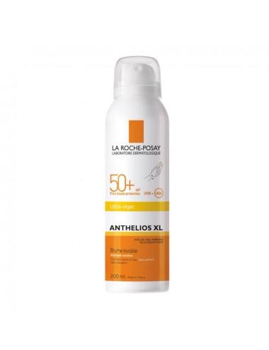 La Roche Posay Anthelios Crème Solaire en Brume Invisible Corps SPF50+ Aérosol Avec Parfum 200ml