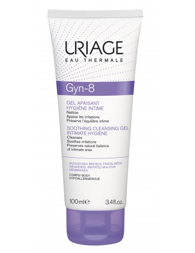 Uriage Gyn-Phy - GYN-8 Gel moussant - Tube 100ml