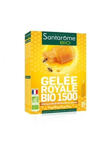Santarome Bio Gelée Royale 1500 30 Ampoules x 10ml
