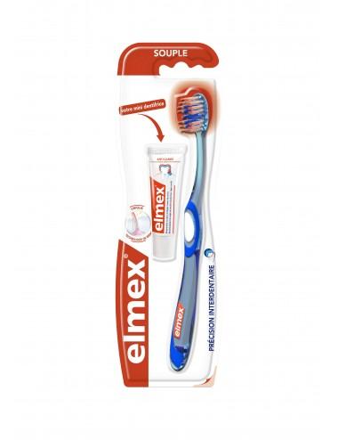 Elmex Brosse à dents Anti-Caries - x1