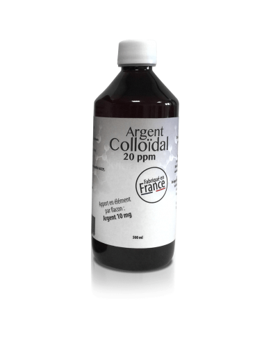 Dr.Theiss Argent Colloïdal 20ppm 500ml