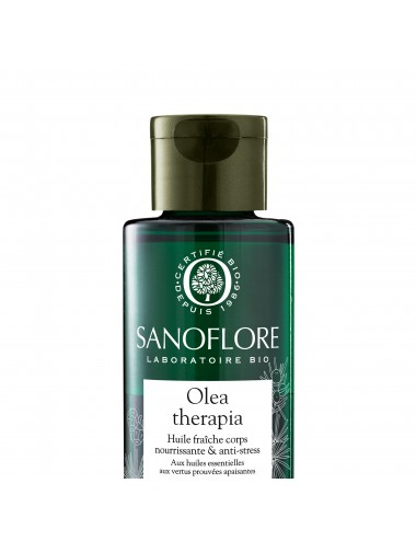 Sanoflore Olea therapia huile fraîche nourrissante & antistress 110ml