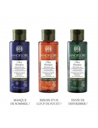 Sanoflore Olea therapia huile fraîche nourrissante & énergisante