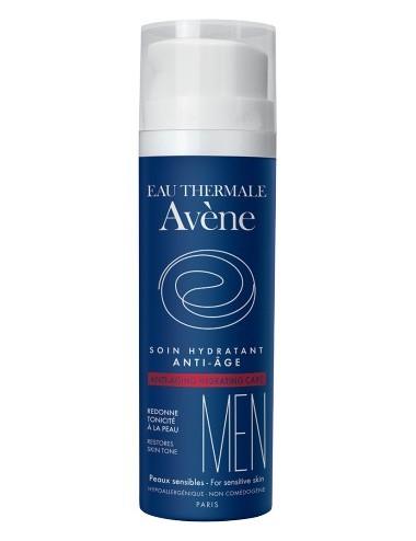 Avene homme soin hydratant anti age peaux sensibles 50ml