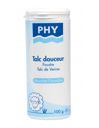 Phy talc poudreuse 100g