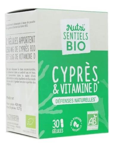 Nutrisanté Les Nutri Sentiels Bio Cyprès et Vitamine D 30 gélules
