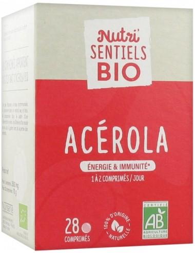 Nutrisanté Les Nutri Sentiels Bio Acérola 28 comprimés