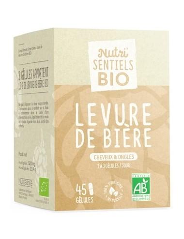 Nutrisanté Les Nutri Sentiels Bio Levure de Bière 45 Gélules