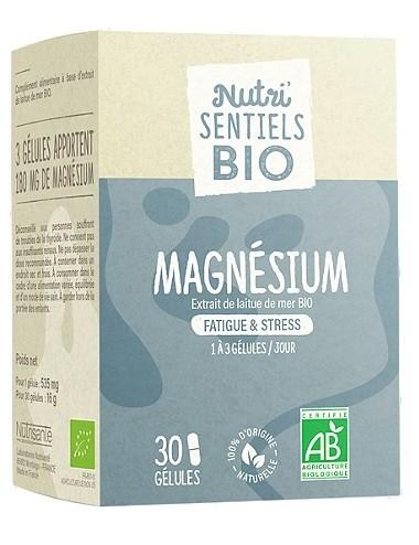 Nutrisanté Les Nutri Sentiels Bio Magnésium 30 gélules