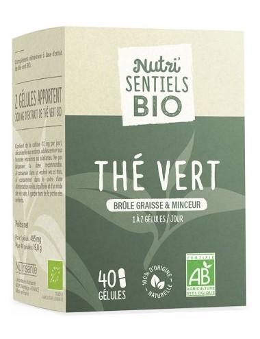 Nutrisanté Les Nutri Sentiels Bio Thé Vert 40 gélules