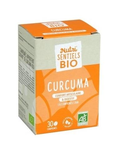 Nutrisanté Les Nutri Sentiels Bio Curcuma 30 Comprimés