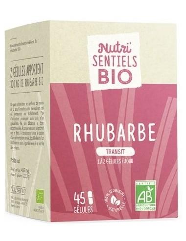 Nutrisanté Les Nutri Sentiels Bio Rhubarbe 45 gélules