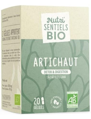 Nutrisanté Les Nutri Sentiels Bio Artichaut 20 Gélules