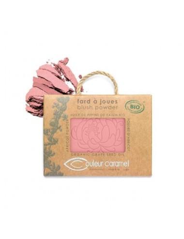 Couleur Caramel Recharge Fard à Joues Mat Bio N°52 Rose Fraicheur 7G