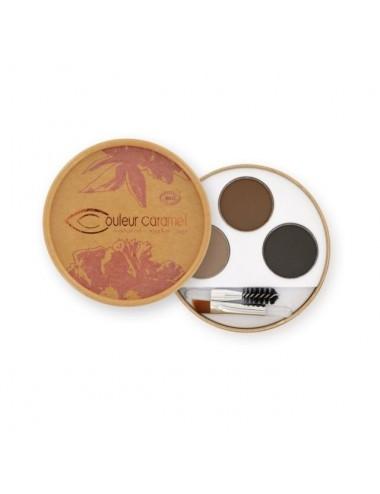 Couleur Caramel Bio Kit Sourcils Brunes N°929