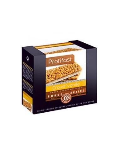 Protifast barres crousti vanille X7